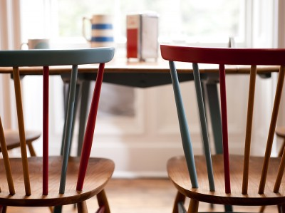 ReFound Ercol Table & 4 chairs