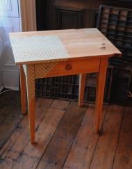Lace design table by Jennifer Hanley