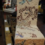 Michelle Doherty's chair for The Venue B&B