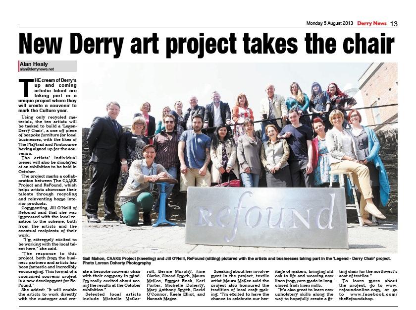 Derry News August 2013