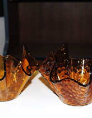 Amber Handkerchief bowls use