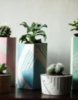 Ail + El large Handmade concrete planters
