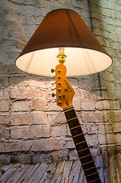 Rock n Roll Floor Lamp by Twisted Salvage