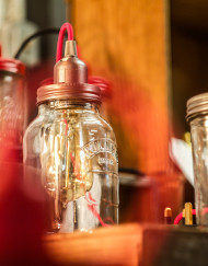 Mason Jar Lights Glass