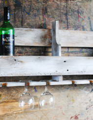 Upcycled Wine Rack by This Old Home