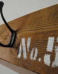 Upcycled Wooden Metal Coat rack