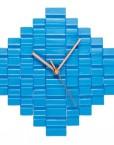 blue heybulldog clock